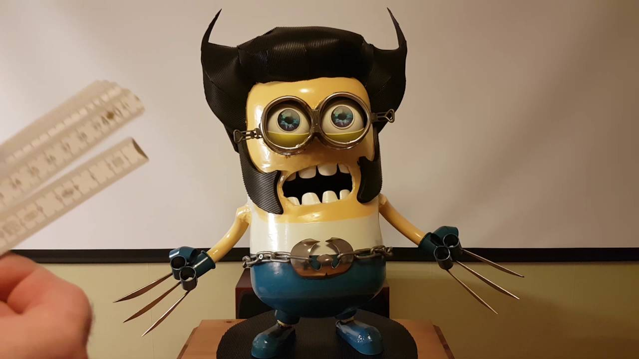 Minion Wolverine Mördar Robot Elvis Youtube
