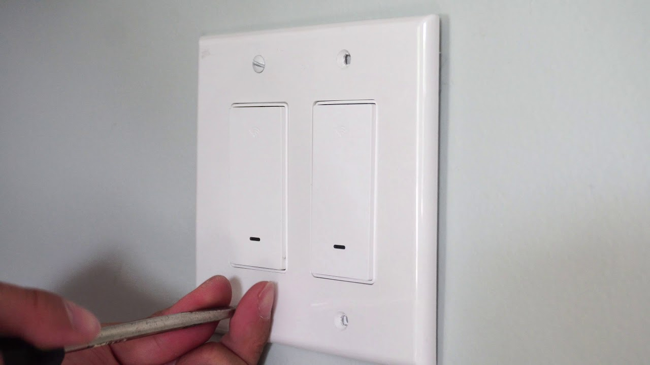Gosund Smart Wifi Light Switch Installation And Review Youtube