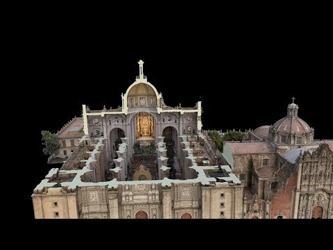 Lasers and drones are preserving world heritage sites