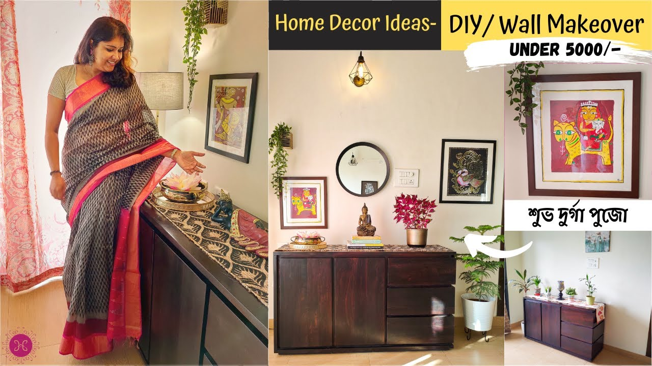 Budget Friendly Home Decorating Ideas Minimalistic Traditional Living Space Makeover Easy Diy Youtube
