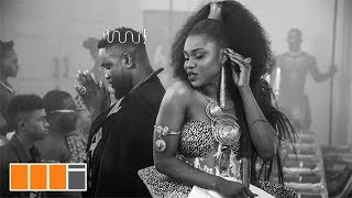 Sarkodie on set for Becca's 'Nana' music video (Behind the scenes)