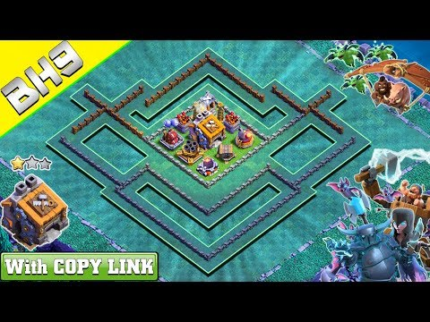 NEW BEST BH9 Base With COPY LINK | Anti 3/2 Stars Builder Hall 9 Base With REPLAY | Clash Of Clans