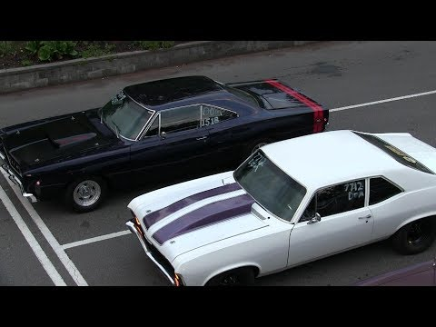Classic Muscle Cars Drag Racing