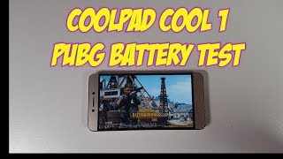 Coolpad Cool 1 PUBG Gameplay/Battery test/ SOT/ Snapdragon 652/Adreno 510 gaming 2018
