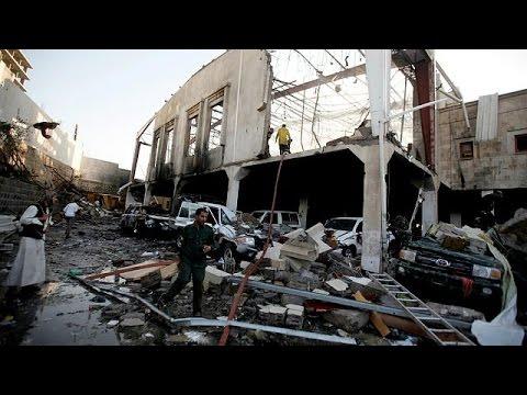 'More than 140' killed in airstrike on Yemen funeral