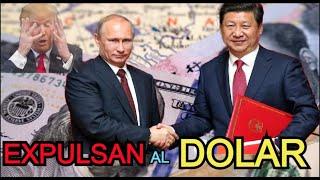 Moscu y Pekin EXPULSAN al Dolar de su COMERCIO definitivamente