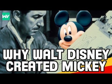 Why Did Walt Disney Create Mickey Mouse? | Discovering Disney History