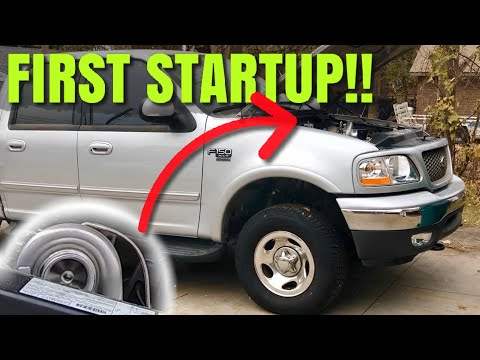 2003 Ford F150 5.4L V8 Single TURBO (Ep: 18) ***FIRST STARTUP!!***