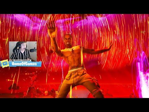 TRAVIS SCOTT LIVE EVENT! - Fortnite Travis Scott Full Concert (BEST VIEW)