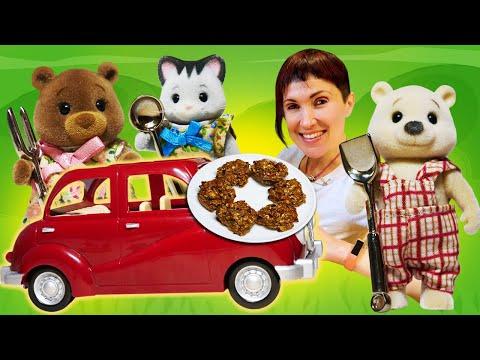 Видео: Рецепты для детей и Маша Капуки Кануки - Веселые видео с игрушками