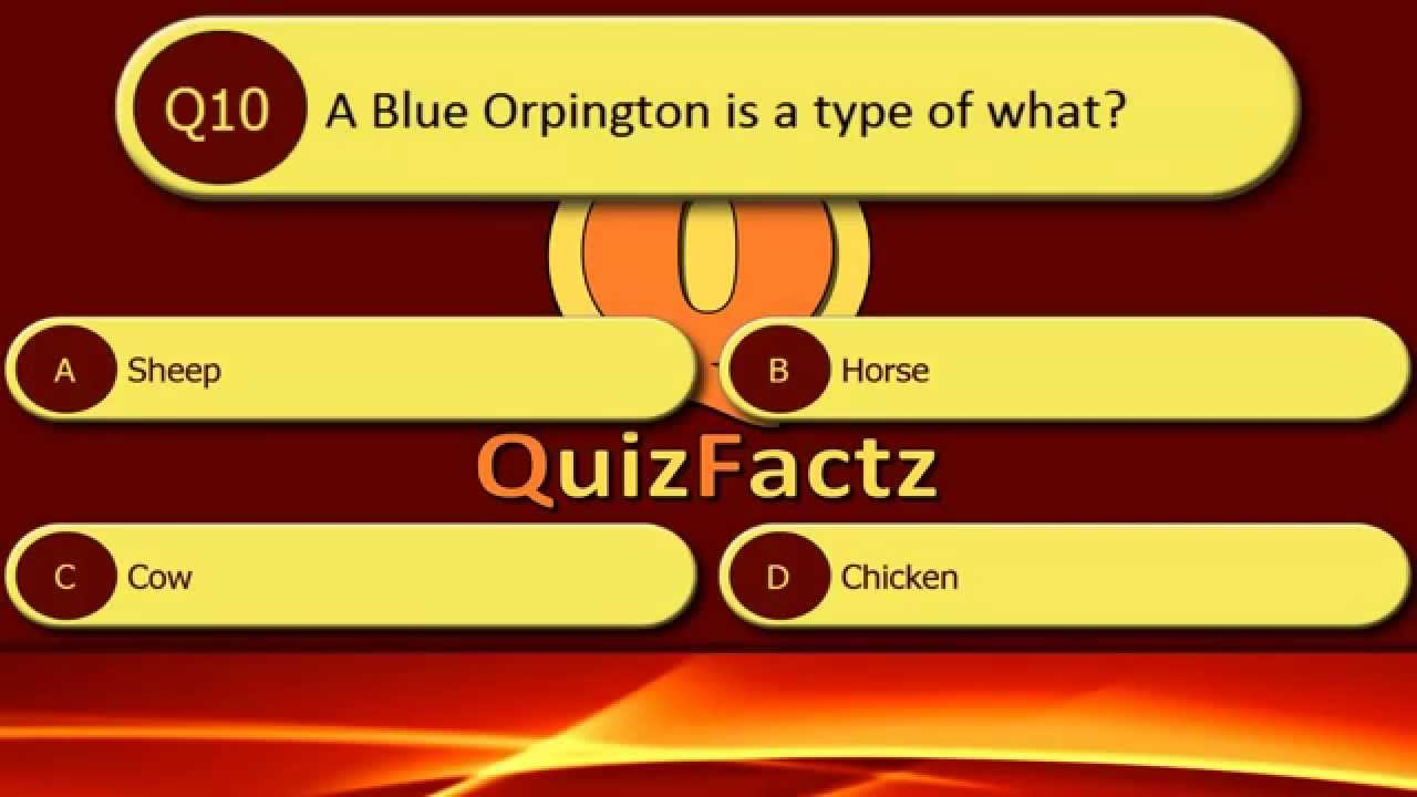 General Knowledge Quiz 3 - YouTube