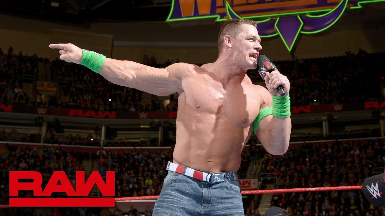 Download John Cena's unfiltered rant on The Undertaker: Raw, March 26, 2018