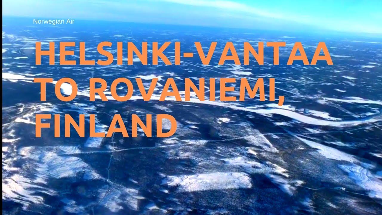 Lähtöselvitys Norwegian Helsinki-Vantaa