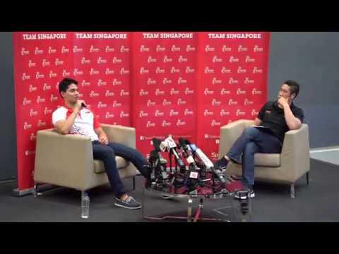 Joseph Schooling on role-model Michael Phelps' DUI