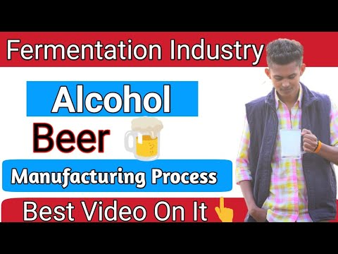 Beer Manufacturing Process|Alcohol Industry | Fermentation Industry|Beer And Wine|By Ambrish Pandey