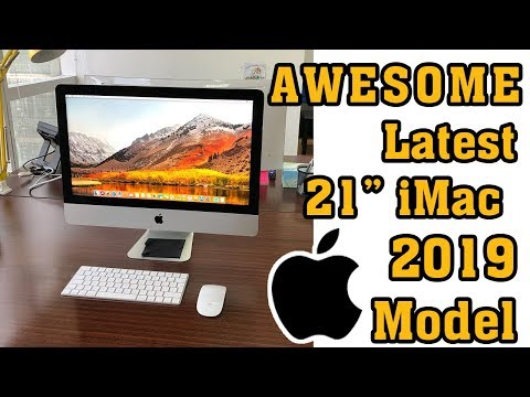 2019 Latest Apple IMac Desktop Retina 4K - Unboxing & Review In Urdu / Hindi