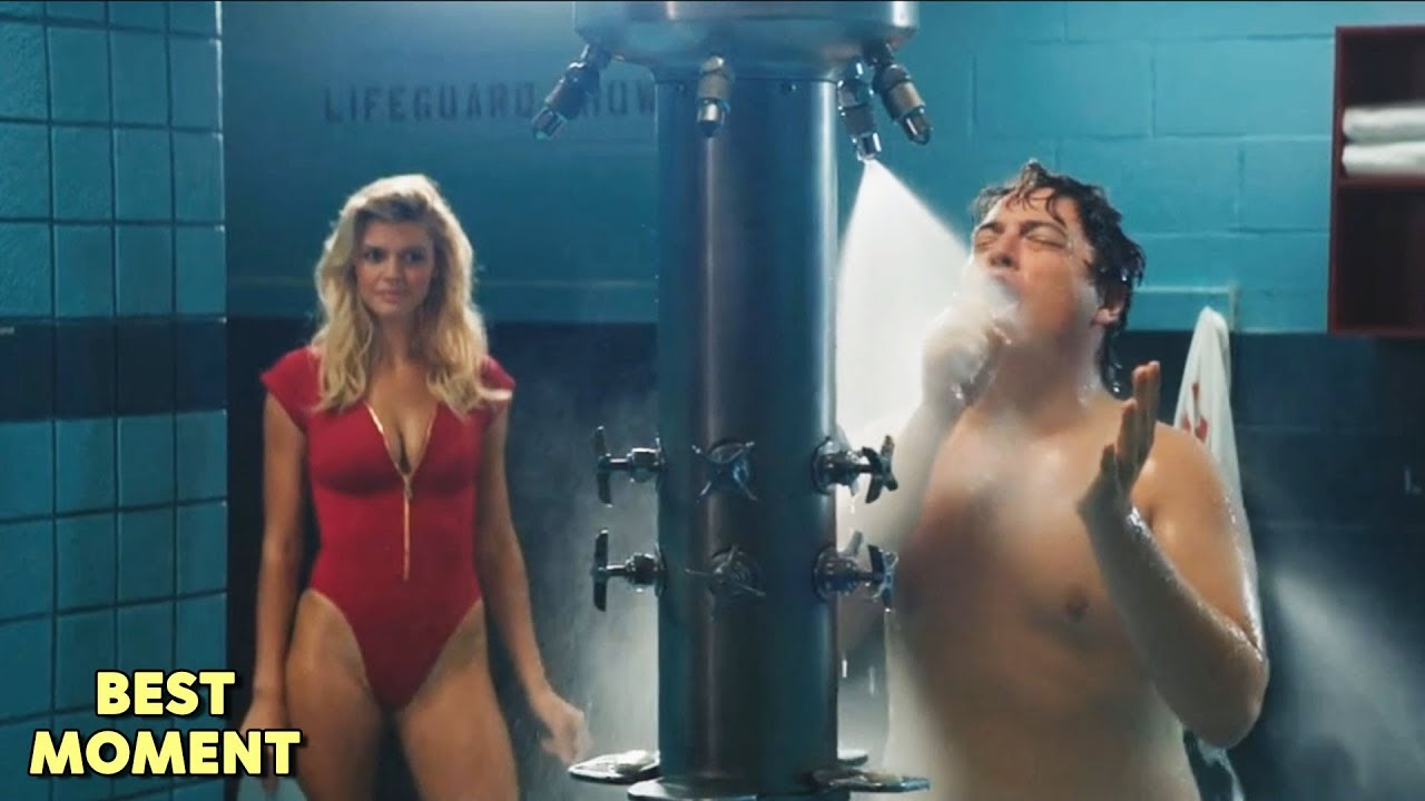 Cj Saw Ronnie Naked In The Shower  Baywatch 2017 Hd -6781