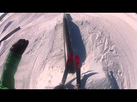Skiing at Detroit Mountain