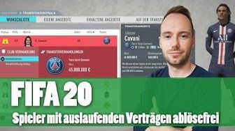 FIFA 20: Top-Spieler mit auslaufenden Verträgen im Karrieremodus ablösefrei verpflichten