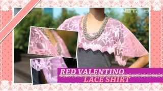 iLook - Do it Yourself - Red valentino lace shirt