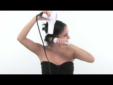 Blow Drying Hair With a Round Brush:: How To