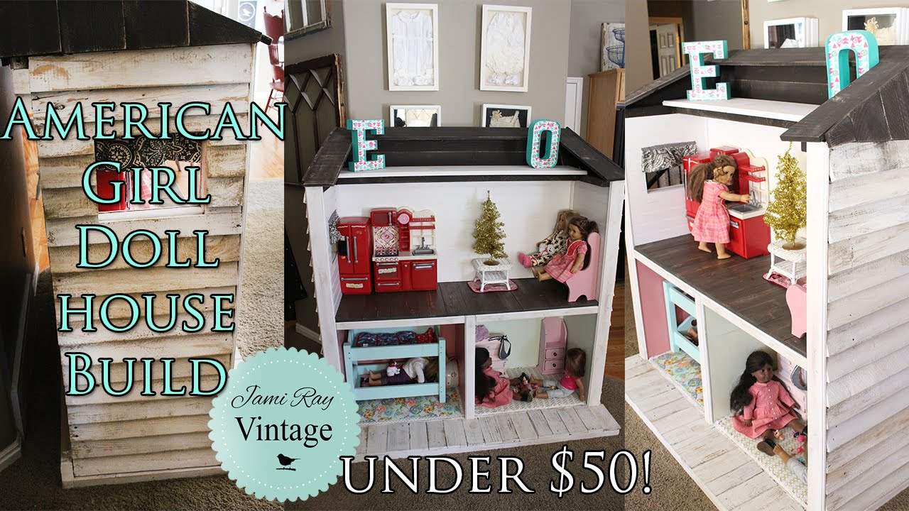 How To Build An American Girl Doll House Out Of Pallets Under 50