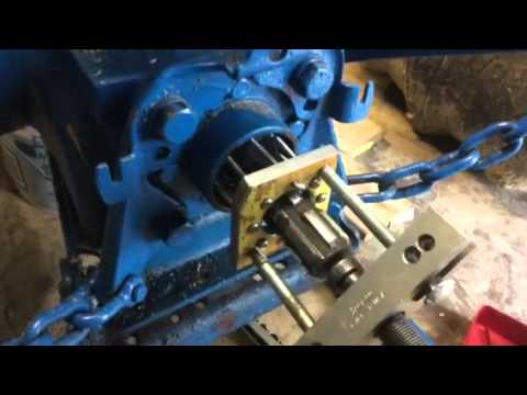 Ford 4600 tractor independent PTO seal replacement - YouTube