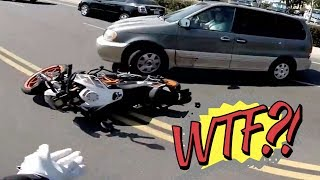 Hectic Road Bike Crashes & Motorcycle Mishaps 2017 [Ep.#31]