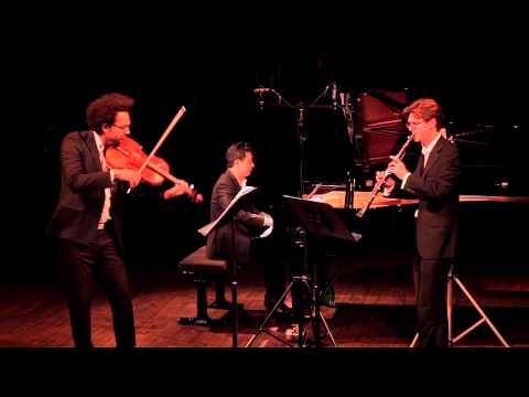 Boreal Trio - Jean Françaix: Trio for Clarinet, Viola and Piano (mvt.2 Allegrissimo)