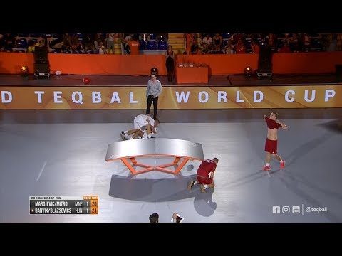 2nd Teqball World Cup - Doubles Final (Hungary vs Montenegro)
