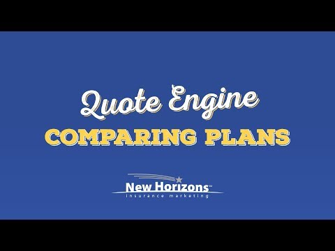 New Horizons Quote Engine - Comparing Quotes