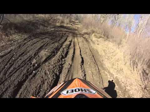 Fountain Creek, CO. dirt biking - 70 degree February day