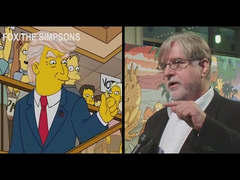 The Simpsons Creators on Donald Trump | Election Cycle