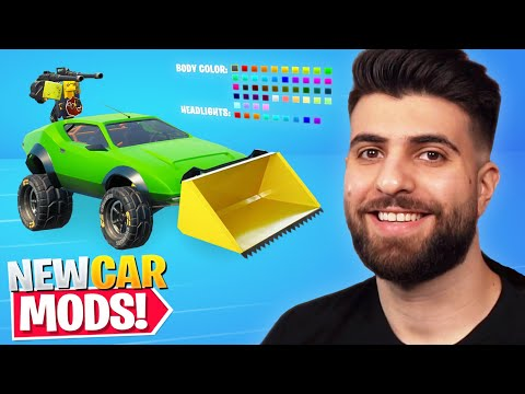 The NEW Car Mods Coming to Fortnite Season 6!