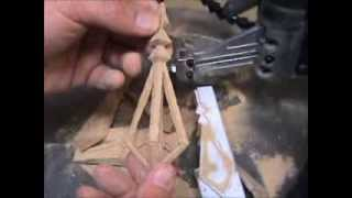 How to make wooden Christmas Ornaments with your scroll saw. Visit HobbyADD.com for more projects. Thank You.