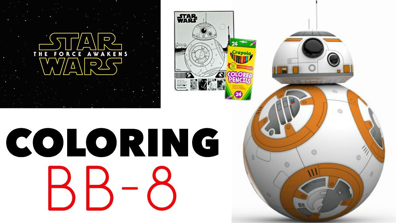 star wars the force awakens coloring book bb 8