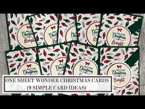 One Sheet Wonder Templates Archives | Lynn Dunn