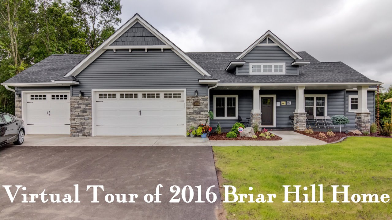Briar hill virtual tour of c m home builders 2016 parade for Virtual home builder free