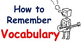 How to remember English vocabulary