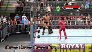 nL Live on Hitbox.tv - STEEL CAGE ROYAL RUMBLE. [WWE 2K15 PC]