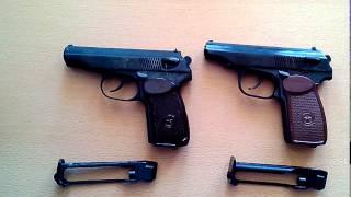 Пневматический пистолет МР-654К-32 (300 серия) (обзор, данные отстрела по скорости и кучности, цена)