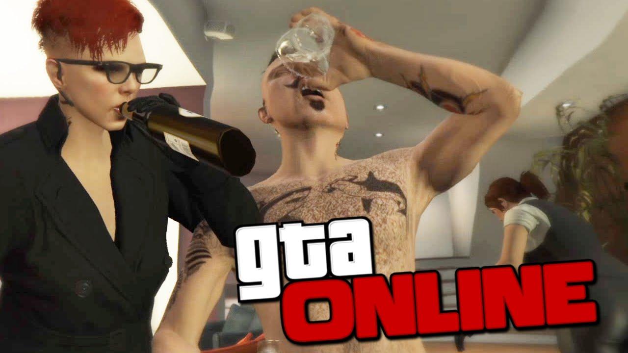 групповая пьянка онлайн