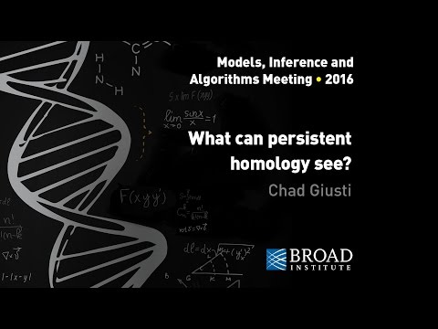 MIA: Chad Giusti, What can persistent homology see?; Ann Sizemore, Topological data analysis