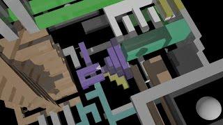 Interactive Maze in 3D - 360 Video