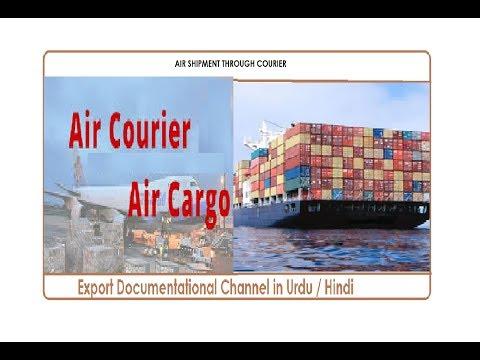 AIR SHIPMENT THROUGH COURIER IN URDU / HINDI