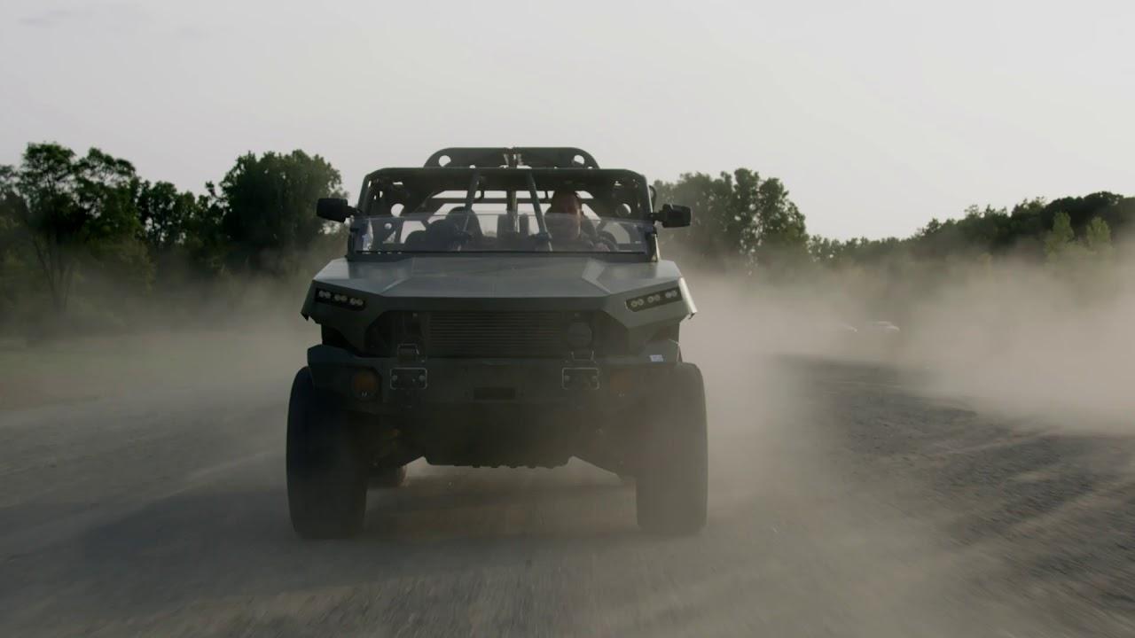 Infantry Squad Vehicle Off-Road | GM Defense