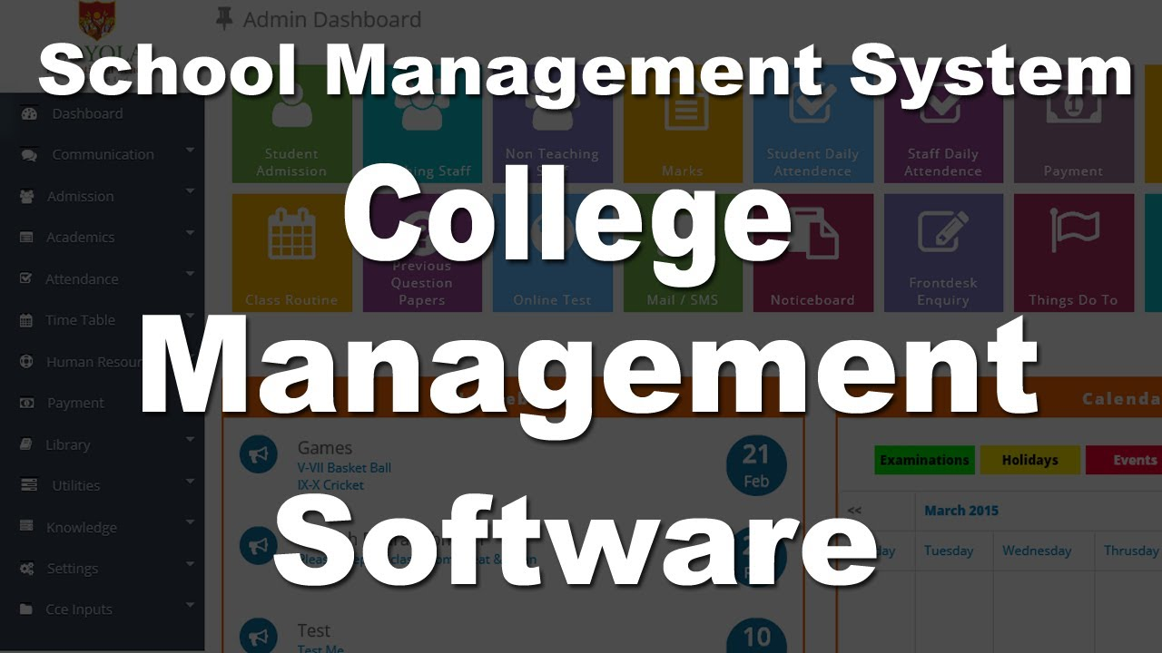 School Management System Software In Hindi Youtube