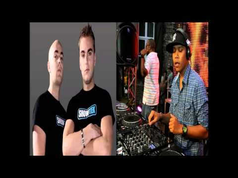 Chuckie vs Showtek  Make some Noise vs Slow Down Chuckie Edit) bootleg