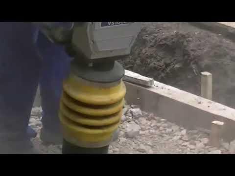Обзор вибротрамбовки (Вибронога, Rammer) SCHEPPACH VS-1000