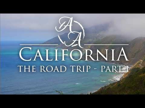 Big Sur to Death Valley California Road Trip in 4K | Part I